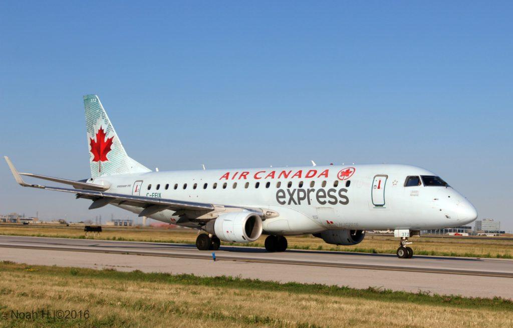 Air Canada Express jet