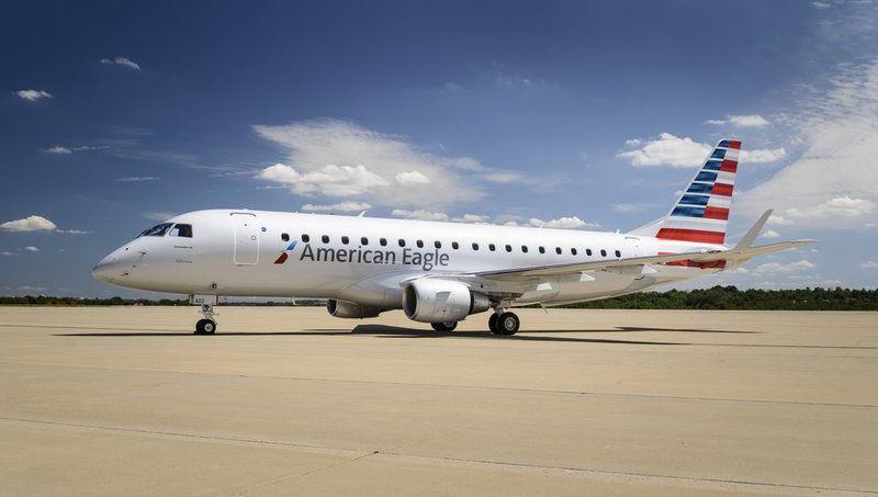 American Eagle jet