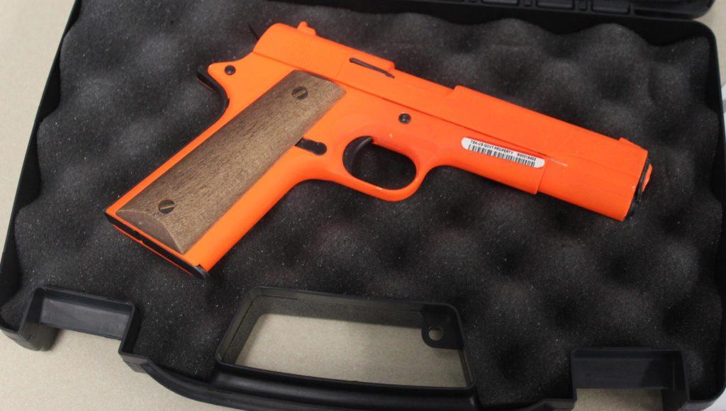 TSA gun packing demo