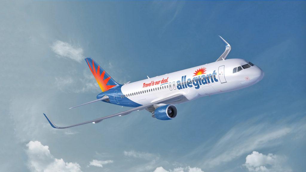 Allegiant Airlines jet