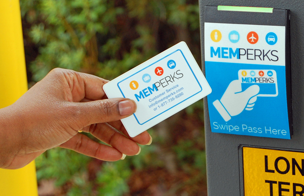 MEMPerks parking rewards program