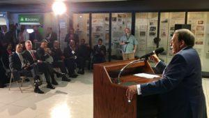 Dr. King's Last Flight historical marker dedication ceremony