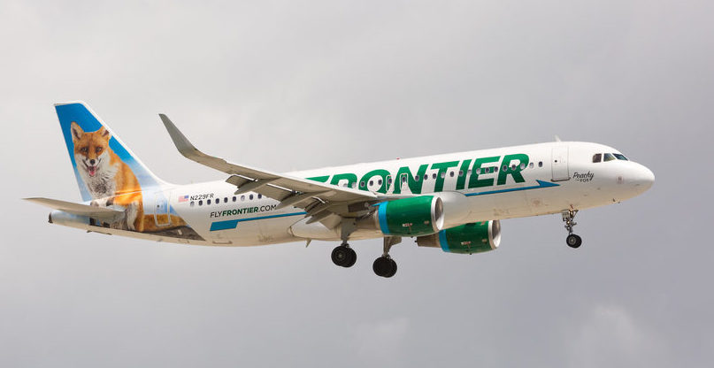 Frontier Airlines Fox Livery