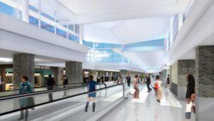 B Modernization higher ceilings rendering