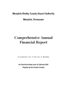 2006 Comprehensive Annual Financial Report