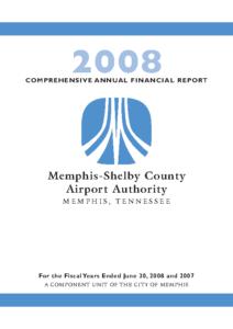 2008 Comprehensive Annual Financial Report