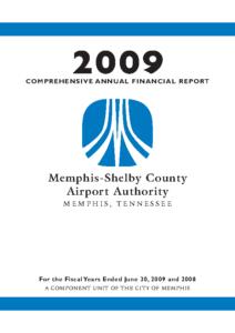 2009 Comprehensive Annual Financial Report