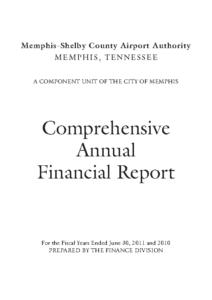 2011 Comprehensive Annual Financial Report