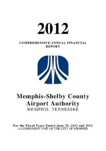 2012 Comprehensive Annual Financial Report