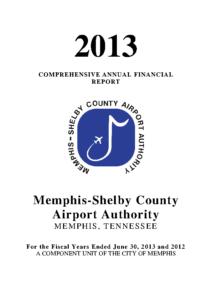 2013 Comprehensive Annual Financial Report