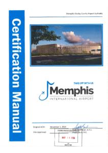 MEM Airport Certification Manual