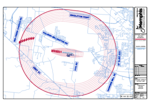 Airport Overlay District Map (Charles W. Baker Airport)