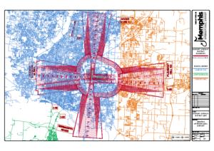 Airport Overlay District Map (Memphis International Airport)
