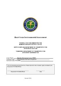 Environmental Assessment UPS-Oakhaven Hub Facility Expansion – August 2019
