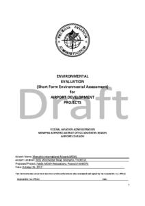 FAA Environmental Assessment Report 12-2017
