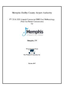 MEM FY 2018-2020 ACDBE Non-Car Rental Goal