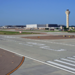 View from Runway 18 C