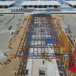 B Concourse progress, Jan 2020