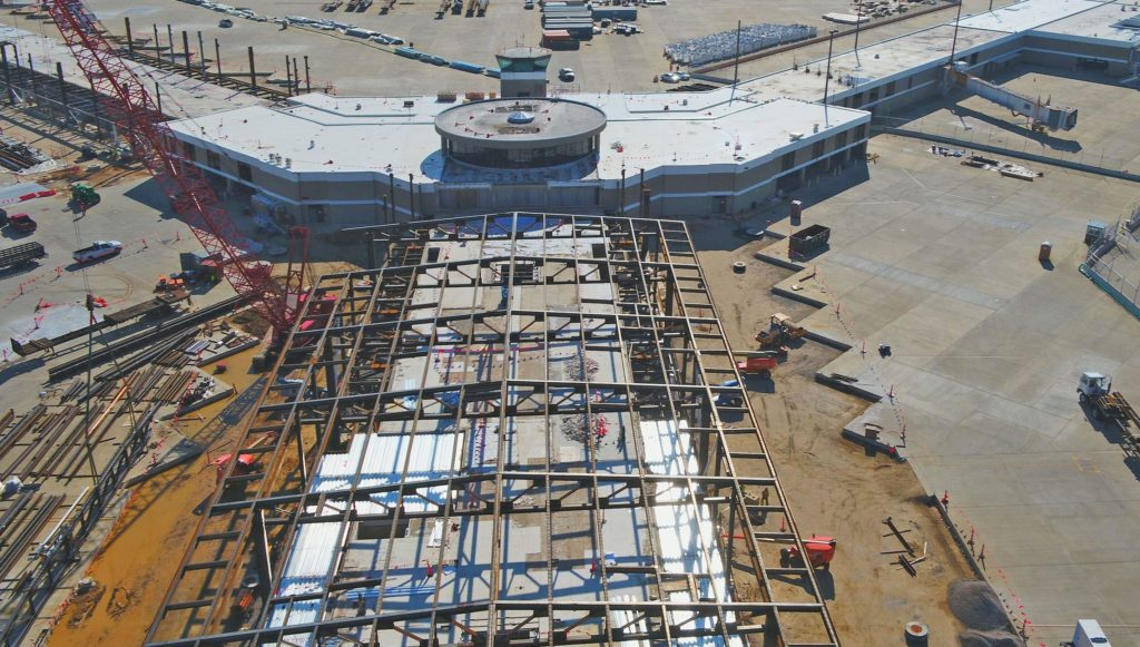 New B Terminal progress, Feb 2020