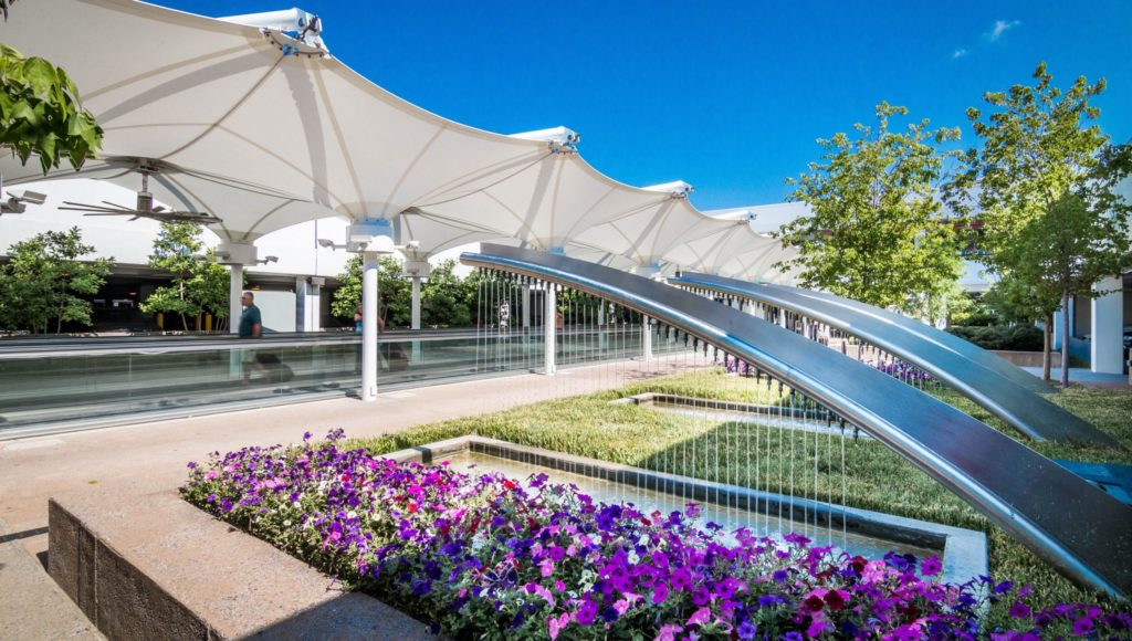 Covered walkway from GTC to MEM Terminal