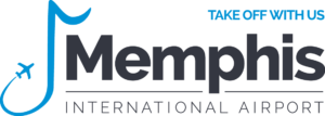 Memphis International Airport logo with tagline