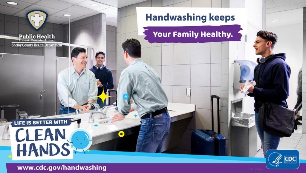 CDC Handwashing Graphic