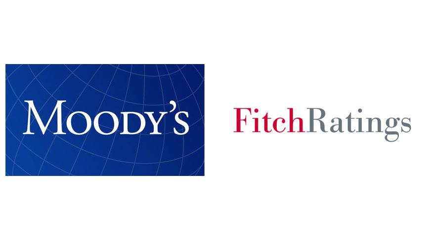 Moody's and Fitch Ratings