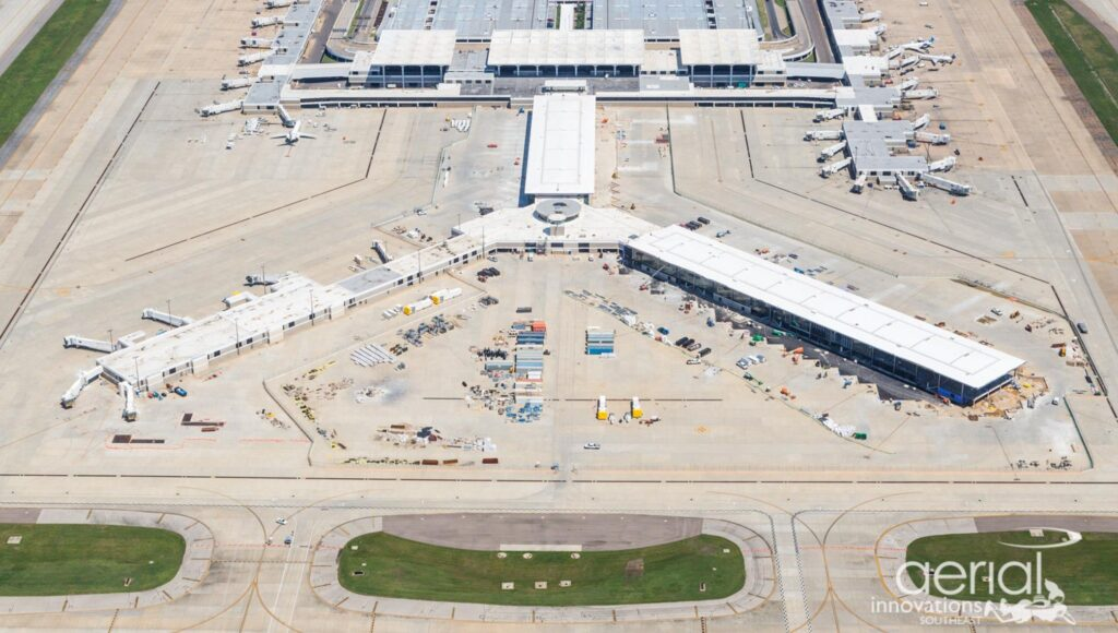 Concourse B modernization - August 2020