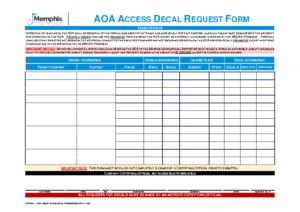 AOA Access Decal Form (CS Fm 01)