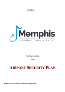 Airport Security Plan – Your Responsiblities (ID Fm 02a)