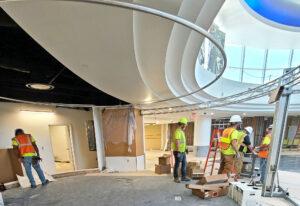 April 2021 Concourse Modernization - Rotunda Stage