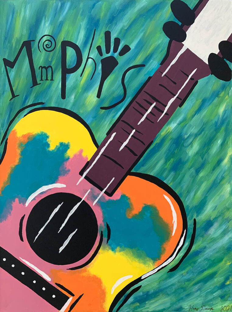 Haley Lucenti, Colorful Sounds of Memphis, Collierville High School