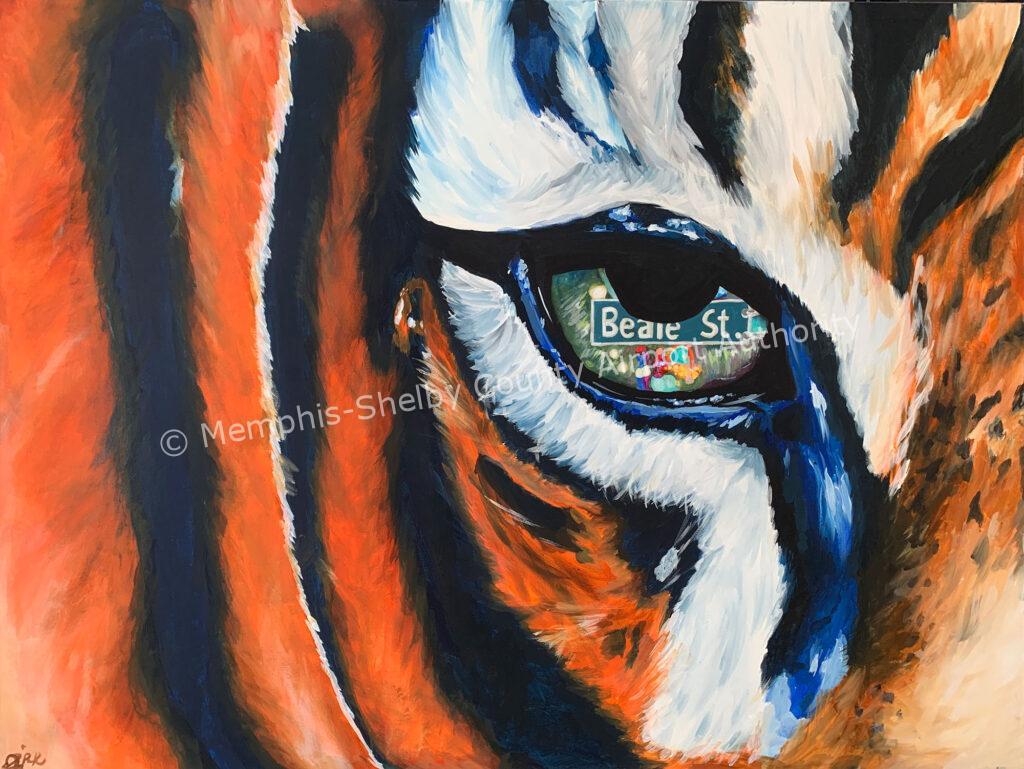 Joy Park, Tiger's Eye, Collierville High School