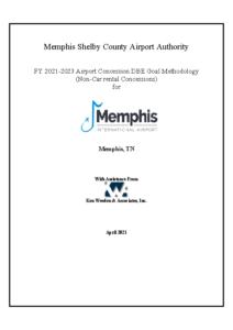 MEM FY 2021-2023 ACDBE Non-Car Rental Goal